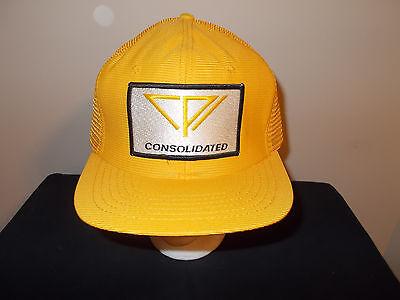 Vtg 1980S Consolidated Telephone Communications Nebraska Snapback Hat Sku20