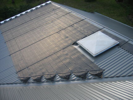 Pool Solar Heating Kit - Fully Automatic with Pump & Controller Hallam Casey Area Preview