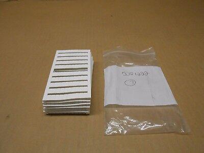 Lot Of 5 New Phoenix Contact 5061222 Zbm-6wh-unbedruckt Terminal Block Marker