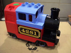 elektrische Lego Duplo Eisenbahn Lokomotive  Western 10507 nagelneu unbespielt