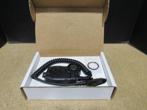 NEW MSA ClearCommand Helmet Lapel Microphone 10042922 W/ Motorola HT Connector
