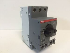guaranteed abb manual motor circuit protector breaker 8