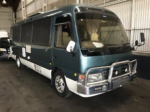 Turbo diesel auto 4.2 Toyota coaster motor home Arundel Gold Coast City Preview