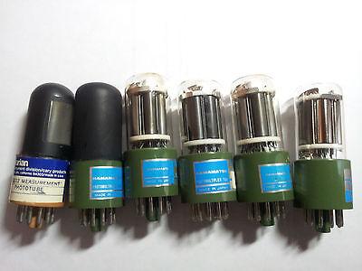 Various Model Photomultiplier Tubes