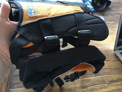 Dog backpack/saddle bag