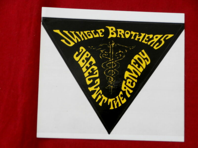 JUNGLE BROTHERS~ JBEEZ WIT THE REMEDY~STICKER ~NOT USED~ MINT ~ COLLECTABLES