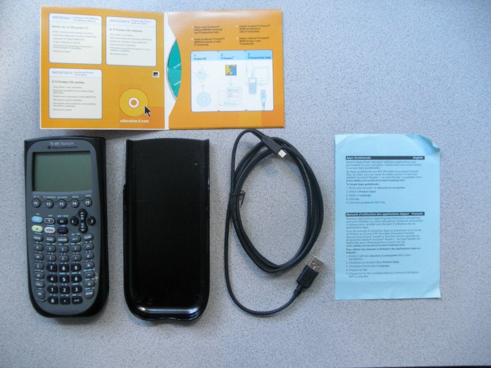 Texas InstrumentsTI-89 Titanium Graphing Calculator