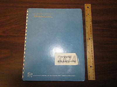 Tektronix Type 3a74 Oscilloscope Plugin Plug-in Instruction Manual