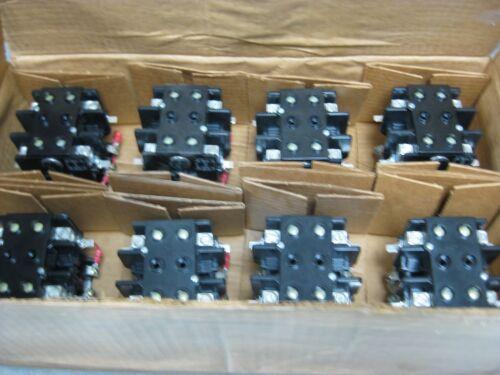 Box of 8 Telemecanique Contactors 2200EBA620ABA-8 Mod -A