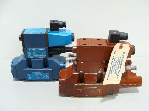 2 x Genuine Eaton Vickers Proportional Control Valve KFDG5V DGMX1 KFDG4V 458833
