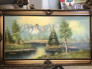 Selling forest scenery picture frame