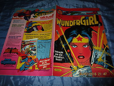 WUNDERGIRL , Februar 1983 , # 2 , ehapa Comics , DC Wonder Woman Comic / Kult