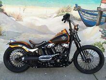 Harley Davidson Custom Crossbones FLSTB Fremantle Fremantle Area Preview