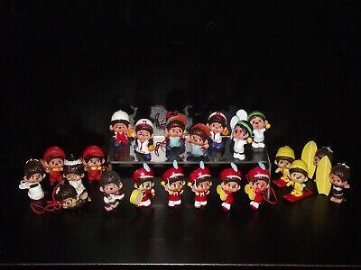 Vintage Sekiguchi - Monchhichi - Lot Of 22 PVC Figures