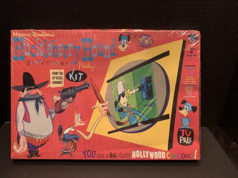 Huckleberry Hound Animated Cartoon Cel Painting Kit SEALED 1995