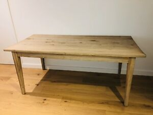 Solid Oak Dining Table for 8