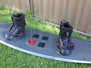 Ronix Wakeboard 140 and Bindings size 10 Kyabram Campaspe Area Preview