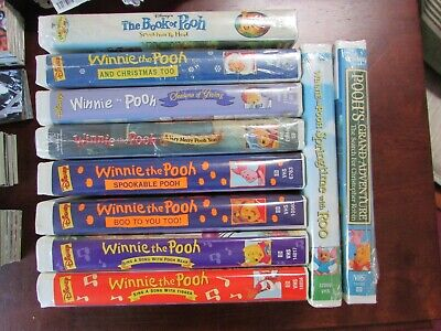 Winnie Pooh Halloween Song (10 - Winnie The Pooh - VHS - 2 Sing A Song - 3 Christmas - 5 New - 5 Very)
