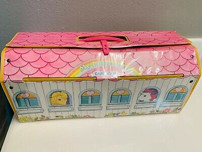 Hasbro 1983 MY LITTLE PONY CARRY CASE STABLE Vintage