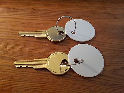 2 Keys For Acroprint Timeclock Key All 125 150 200 Time Clocks Pk 626 Pk626