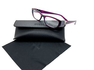 Guess Purple Eyeglasses Frame Remove Demo lenses for RX GU2387 PURBL (Frame For Spectacles)