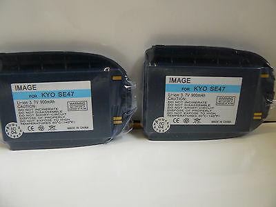 (Lot of 2) Kyocera SE44, SE47 Slider, V5 Batteries Blue (900 - Se44 Slider