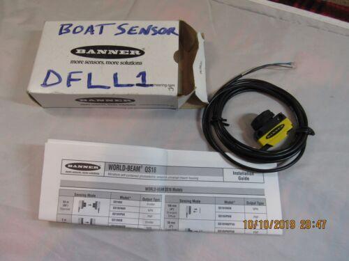 NEW Banner QS18VN6LP World Beam Photoelectric Sensor