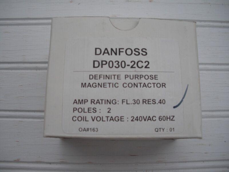 DANFOSS DP030-2C2 DEFINITE PURPOSE MAGNETIC CONTACTOR 30 AMP FREE SHIPPING