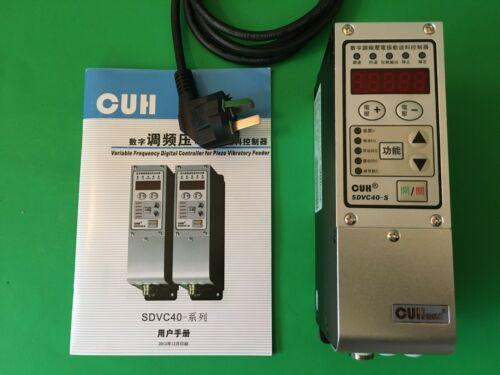 SDVC40-S CUH  digital controller for vibratory feeder - Chinese AC plug?