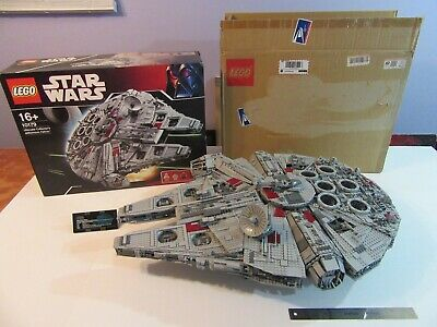 LEGO STAR WARS UCS MILLENNIUM FALCON 10179, 100% COMPLETE Box + Instructions