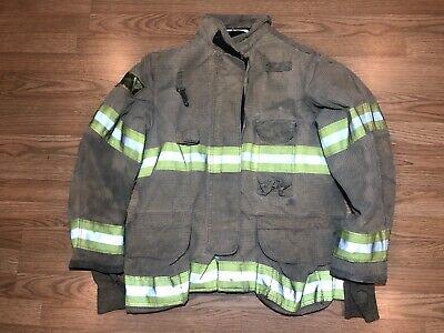 Janesvillelion Apparel Firefighters Jacket Turnout Bunker Gear 42 32 L 5331