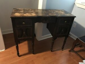Antique Desk needs some work. Nice little piece