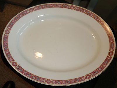 """""""J AND G MEAKIN"""" LARGE MEAT PLATE, SIMPLE DESIGN"""