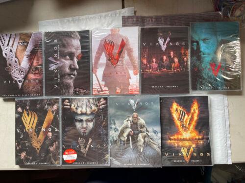 Vikings Seasons 1-6 Complete Series DVD Bundle Brand New Sealed Free Shipping!