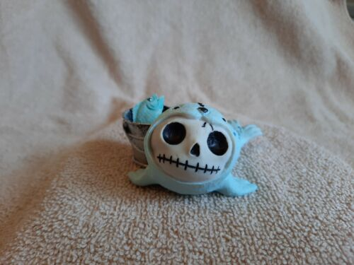 FURRYBONES Rollie the Seal Figurine Skull in Costume Collect New Free Shipping