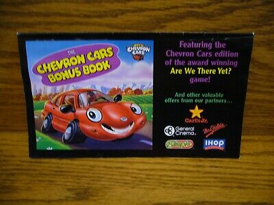 "The 1999 Chevron Cars Collection ""CHEVRON CARS BONUS BOOK"" Great Pictures NICE"