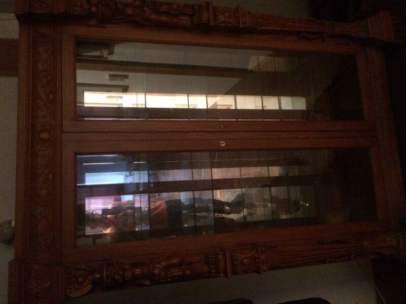 Carved Display Cabinet