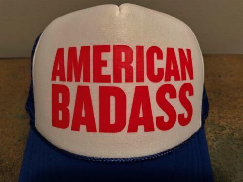 KID ROCK AMERICAN BADASS TRUCKER CAP HAT NEW!