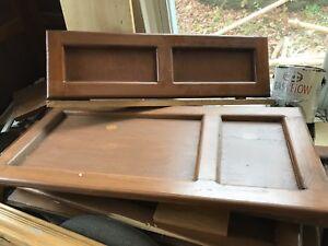 Assorted wood doors