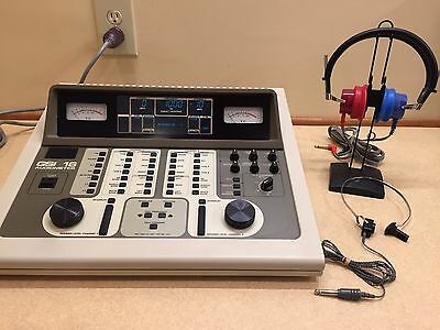Gsi 16 2 Channel Audiometer With Current Calibration Certificate New Display