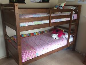 Wooden Bunk Beds Belmont Geelong City Preview