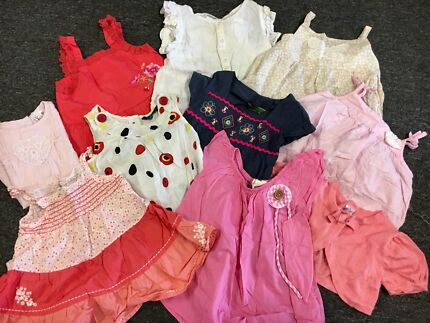Pretty Girl's Tops (Size 2) - 10 pieces