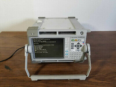 Agilent Techn. J7231 Omniber Otn Comm. Performance Analyzer Jitter Woptions
