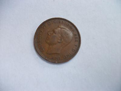 Half Penny Coin 1944 George VI