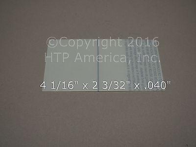 2 Hornell Speedglas Inside Clear Cover Lens 04-0280-00
