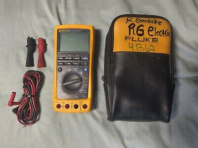Fluke 789 Processmeter Leads Case Fully Tested Calibrated Through 2020