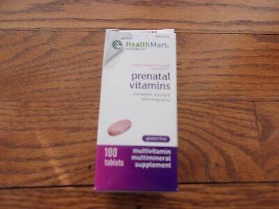 hm prenatal vitamins 100 ct gluten free