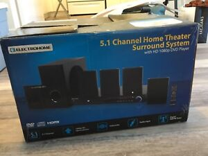 Electrohome 5.1 Channel Surround Sound Home Theater