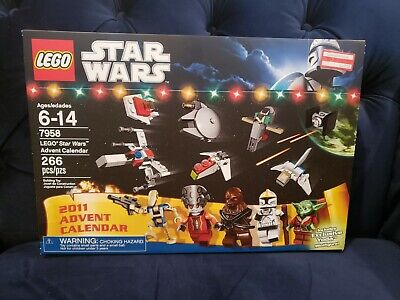 Lego 7958 Star Wars Advent Calendar 2011 SEALED NEW MISB MORE RARE AUCTIONS!