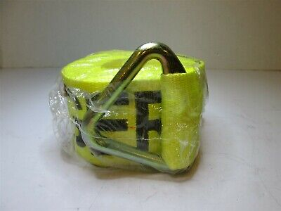Lift-all 61205 Yellow Polyester 4 X 27ft Winch Strap 5000 Lb Working Load Limit